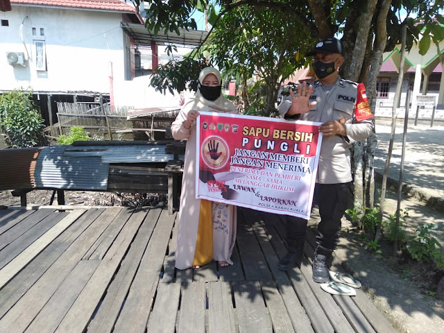 Sosialisasikan Pepres No 87 Tahun 2016, Aiptu Sarwo Ajak Tolak Pungli