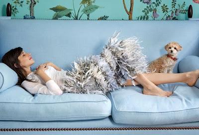 Caroline sieber in her london home-vogue-belle vivir blog