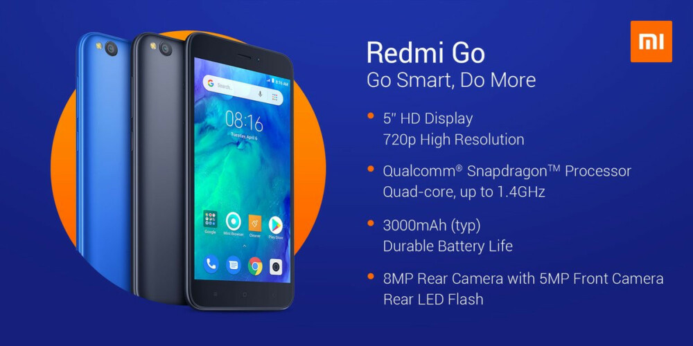 Redmi Go : اول هاتف من شاومي في برنامج اندرويد جو