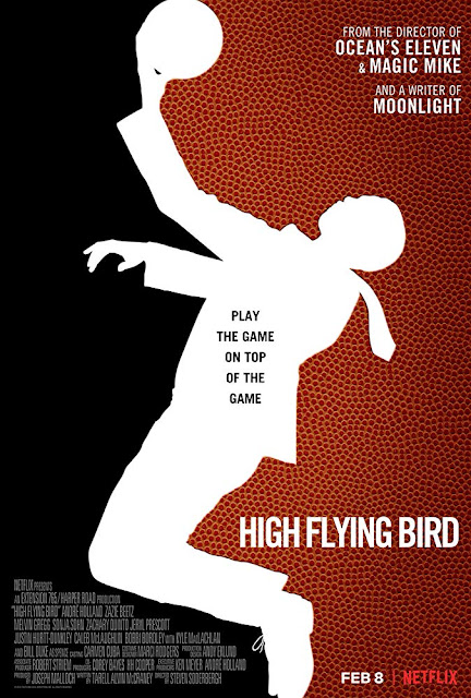 High Flying Bird 2019 Netflix movie poster