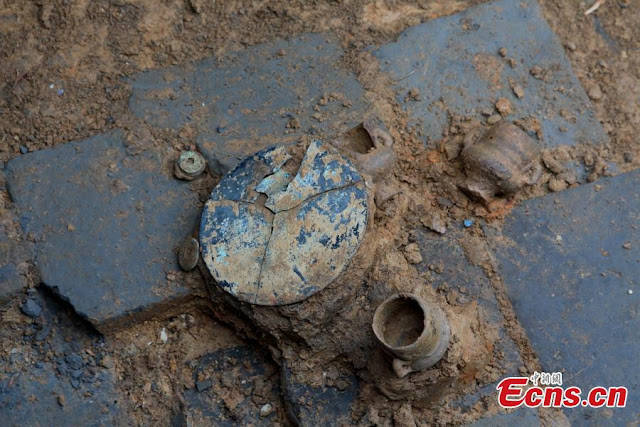 Complex of Song Dynasty tombs unearthed in SW China