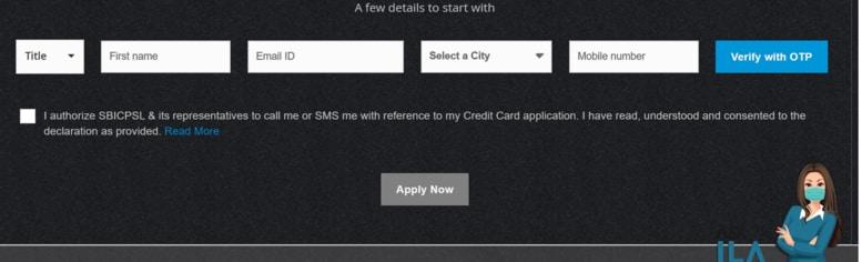 SBI Prime Credit Card Online Apply