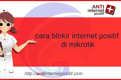 Bypass Internet Postitf Dengan Mikrotik