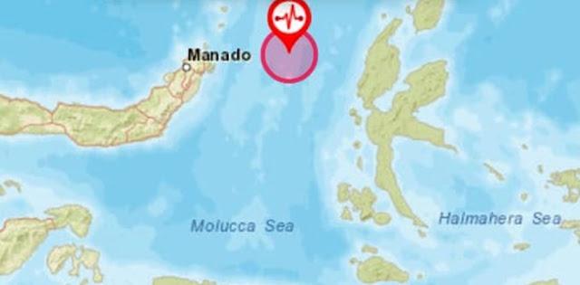 Gempa Susulan 5,9 SR Di Malut, Tak Berpotensi Tsunami