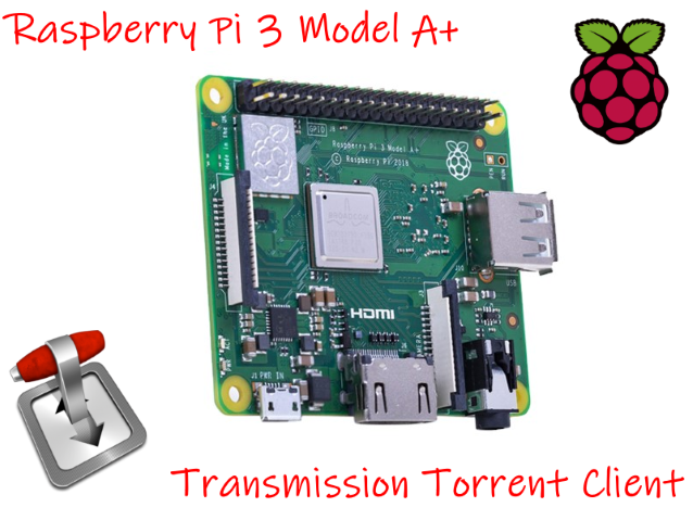 Servidor torrent com Raspberry Pi 3 Model A+