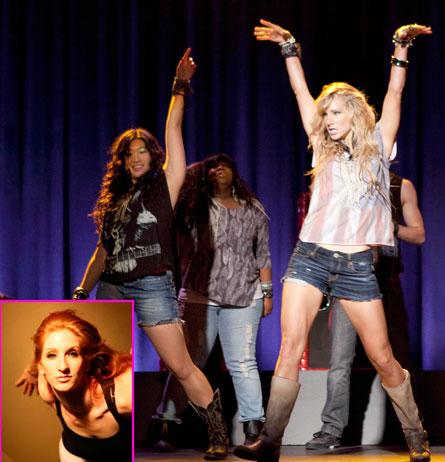 Glee's Brooke Lipton: Dance on Fire   The LooseLeaf Report