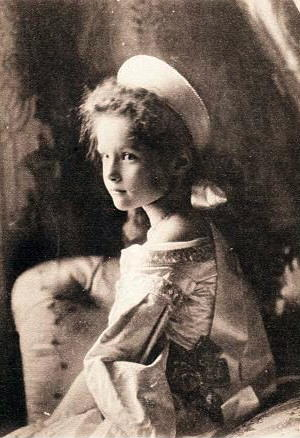 grã duquesa tatiana romanov pequena