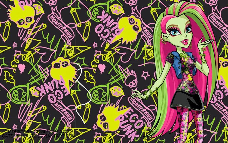 Fondos De Pantalla De Monster High: Blog De Venus Monster High