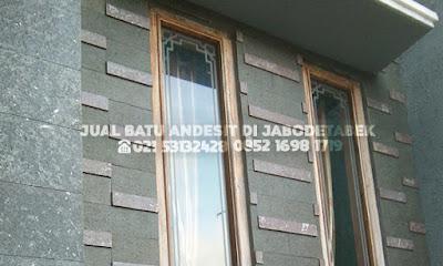 contoh pasang batu andesit untuk dinding rumah