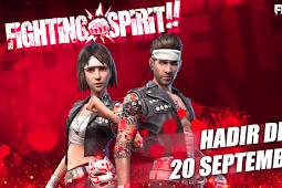 Event Fighting Spirit Free Fire September Berhadiah Bundle Gen-J