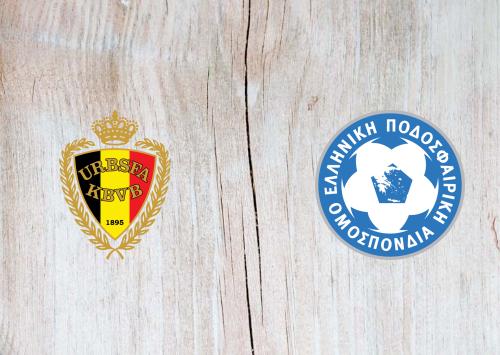 Belgium vs Greece -Highlights 03 June 2021