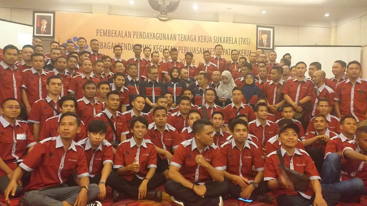 Rekrutmen Tenaga Kerja  Sukarela Kementerian Tenaga Kerja Dengan Pendidikan Minimal SMA & Usia Maksimal 50 Tahun