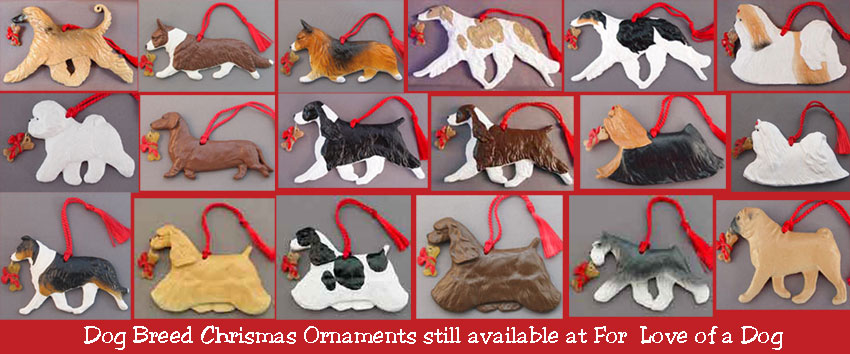 Dog Breed Christmas Ornaments Almost Sold Out at ForLoveofaDog.com - Talking Dogs At For Love Of A Dog: Dog Breed Christmas Ornaments
