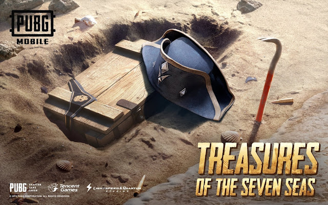 lokasi treasure pubg