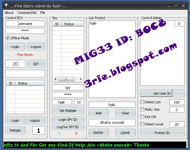 Aplikasi admin moderator mig33   Free download Software