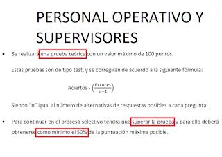 Personal Operativo y Supervisores