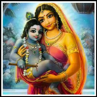 krishna yashodha images