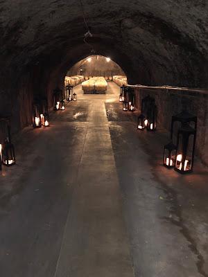 Repris Wine Cave Entrance