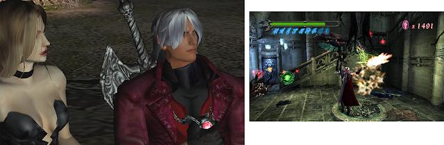 Devil May Cry Nintendo Switch release screenshots gameplay Dante Trish