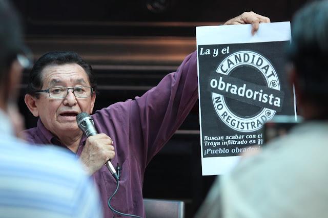 Convocan a impulsar candidatos ciudadanos obradoristas en la boleta electoral