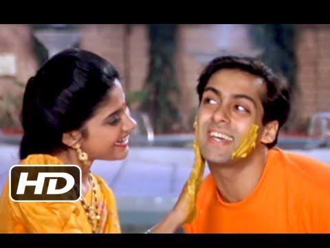 Dhiktana 1 - Blockbuster Bollywood Song - Salman Khan & Madhuri Dixit - Hum Aapke Hain Kaun - S P Balasubrahmanyam Lyrics in hindi