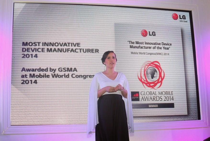 LG G Pro 2 Philippines Launch, Faith Mijares