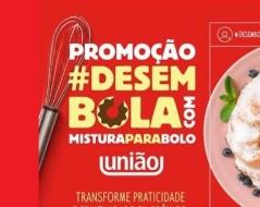 Promoção Desembola Com União Mistura de Bolo