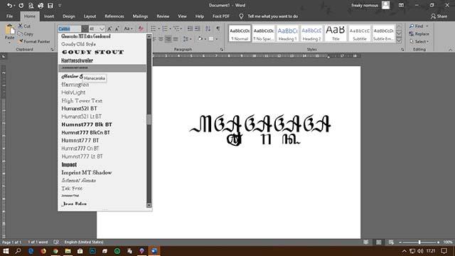 Cara Mudah Menambah Font Di Windows 10