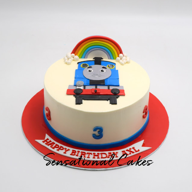 Thomas And Friends Rainbow Cream Cake Singapore Thomasandfriendscake