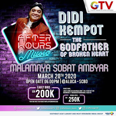 Konser Didi Kempot ALUCA International Hall
