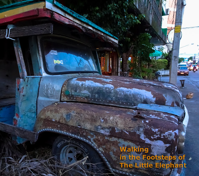 An Old truck in Chiang Rai