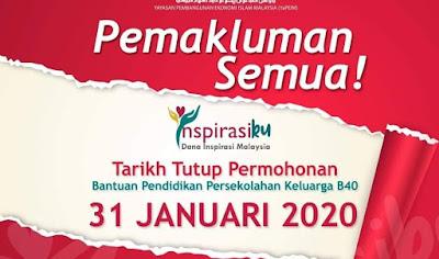 Borang Inspirasiku YAPEIM 2020 Online (Dana Inspirasi Malaysia)