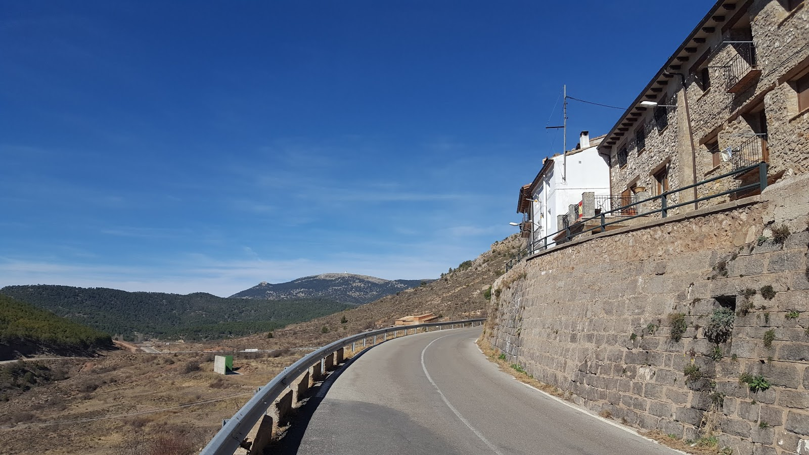View of the Javalambre Astrophysical Observatory, just over the border of Castrellón in the province of Teruel