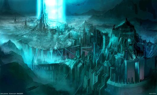 Lemuria, the Forgotten City