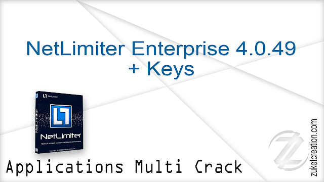 NetLimiter Enterprise 4.0.49 + Keys   |  22 MB
