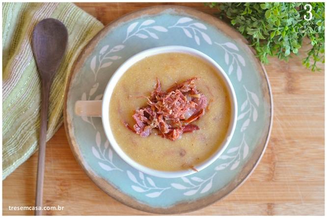 receita de sopa de fubá