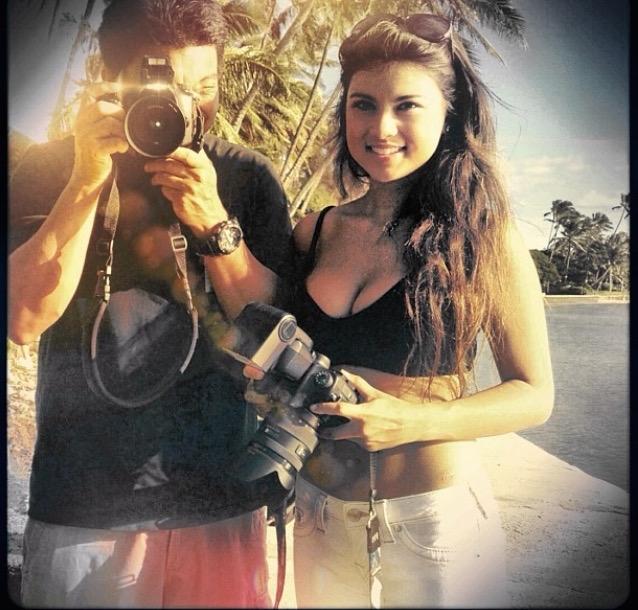 Kelly Fountain, fashion, Hawaii, photoshoot, makapu, haute couture