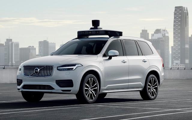 Volvo e Uber anunciam parceria para carros produção de carros 100% autônomos