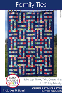 Family Ties Quilt Pattern by Myra Barnes of Busy Hands Quilts