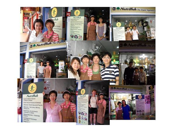 A Big Thank You to Friends of NutriHub - A Humble Farewell @ our Cafe closure on 19 May 2012