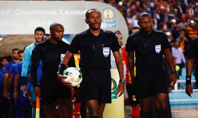 باملاك تيسما يدير مباراة الترجي الرياضي وأهلي بنغازي الليبي
