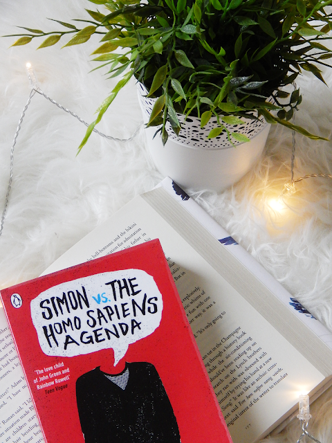 Simon VS The Homo Sapiens Agenda No Spoiler Book Review | sprinkledpages