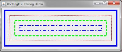 Membuat Persegi Dengan JAVA Graphics2D Netbeans