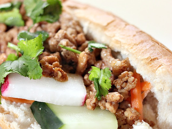 Incredible Indonesian-Style Sweet & Sour Pork Sandwich Recipe