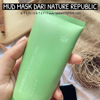 [REVIEW] Nature Republic Bamboo Charcoal Mud Pack