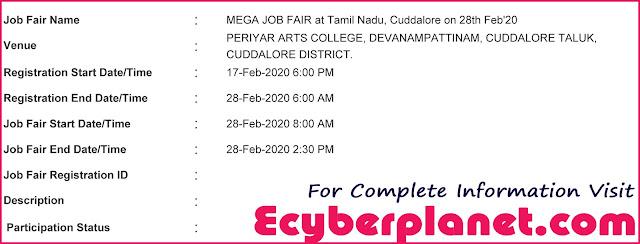 Cuddalore Job Fair