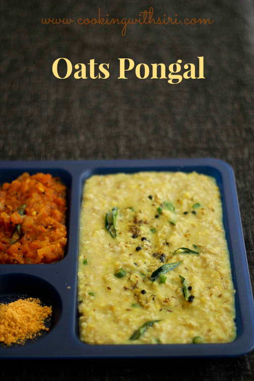 Cooking with siri recipes reviews and reflections how to make cooking with siri recipes reviews and reflections how to make oats pongal oats with split mung dal and tomato gotsu recipe forumfinder Images