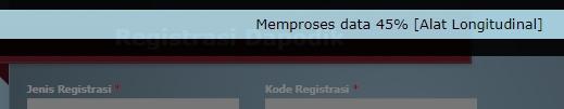 Tunggu Proses Registrasi Dapodik Offline sampai selesai