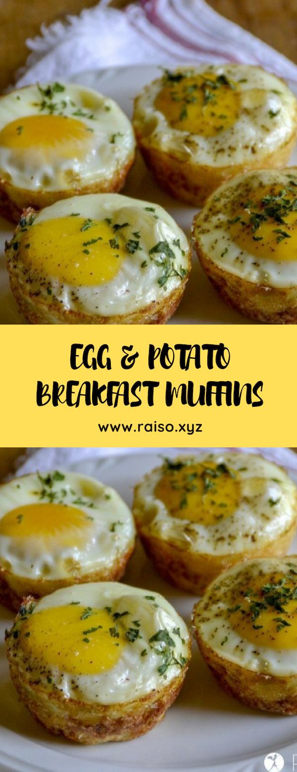 EGG & POTATO BREAKFAST MUFFINS #breakfast #whole-30 #glutenfree