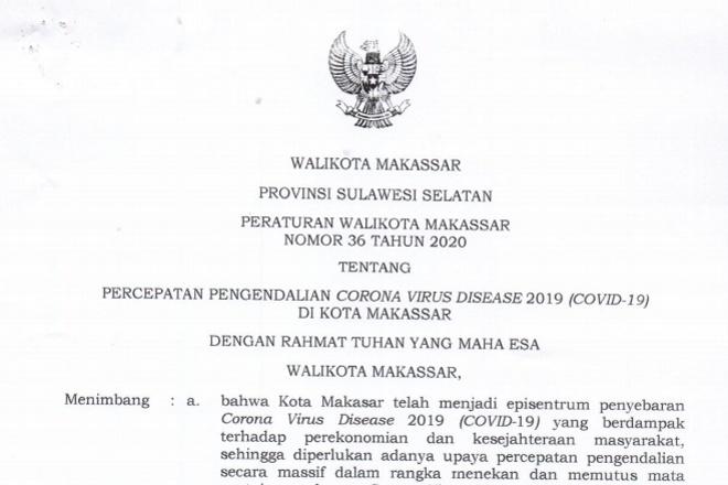 Ini Dia Kategori Profesi yang Boleh Masuk Makassar Tanpa Surat Keterangan Bebas Covid-19